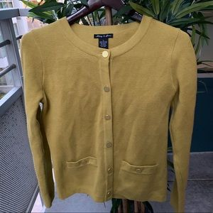 Chartreuse cardigan S